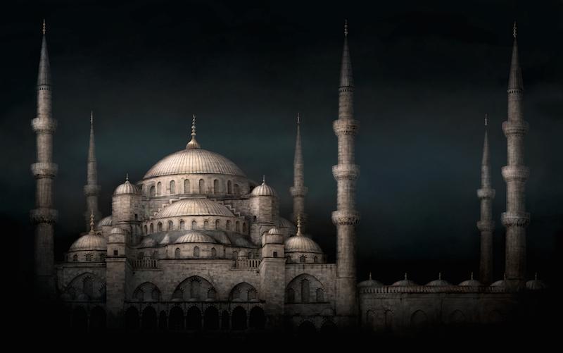 Irene Kung, Blue Mosque, 2014