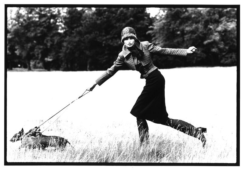 Apollonia Londo British Vogue, 1971 © Arthur Elgort, courtesy Galleria Carla Sozzani, Milano