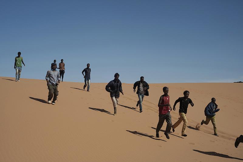Giulio Piscitelli. Libya, Southern border with Sudan- 18th May 2014 -