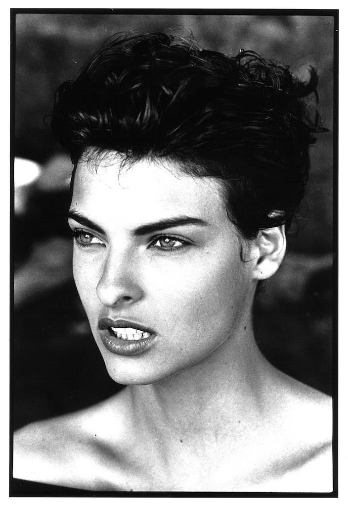Linda Evangelista, Dominica, 1990 © Arthur Elgort, courtesy Galleria Carla Sozzani, Milano