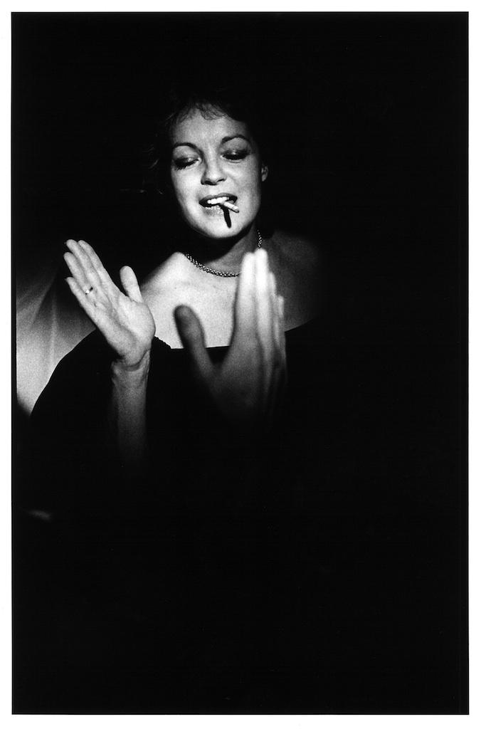 Romy Schneider, Paris, 1982  © Arthur Elgort, courtesy Galleria Carla Sozzani, Milano