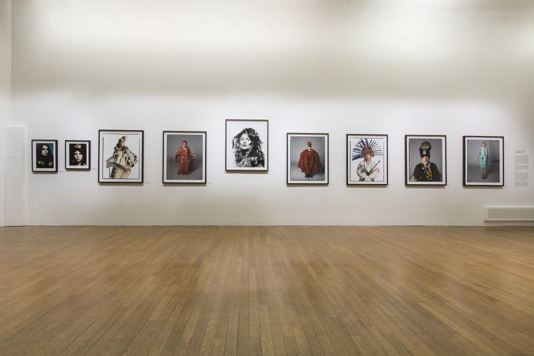 a milano mostra ritratti di David Bailey