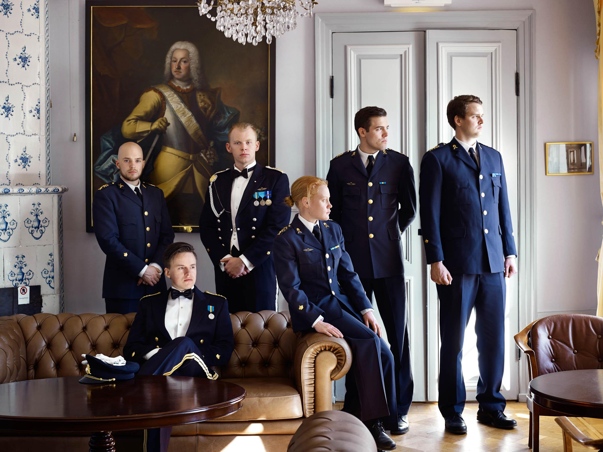 """Paolo Verzone """"Cadetti"""". Karlberg Military Academy, Stoccolma Svezia"""