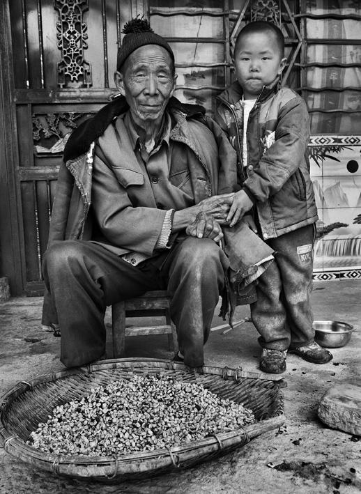 Villaggio Mengnai, distretto di Baoshan, provincia di Yunnan, Cina 2012. © Sebastião Salgado/Amazonas Images