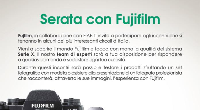 tour Fujifilm nei circoli Fiaf italiani