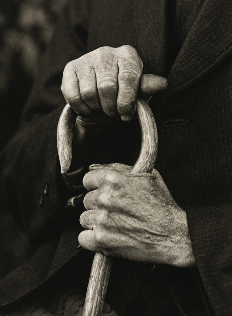 Hands of a Farmer, 1910   © Die Photographische Sammlung/SK Stiftung Kultur – August Sander Archiv, Colonia; SIAE, Roma, 2015