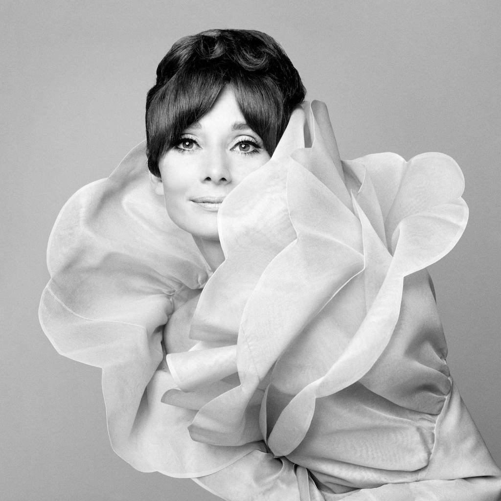 Gian Paolo Barbieri - Audrey Hepburn, Vogue Italia, Roma, 1969. Per gentile concessione di 29 Arts In Progress