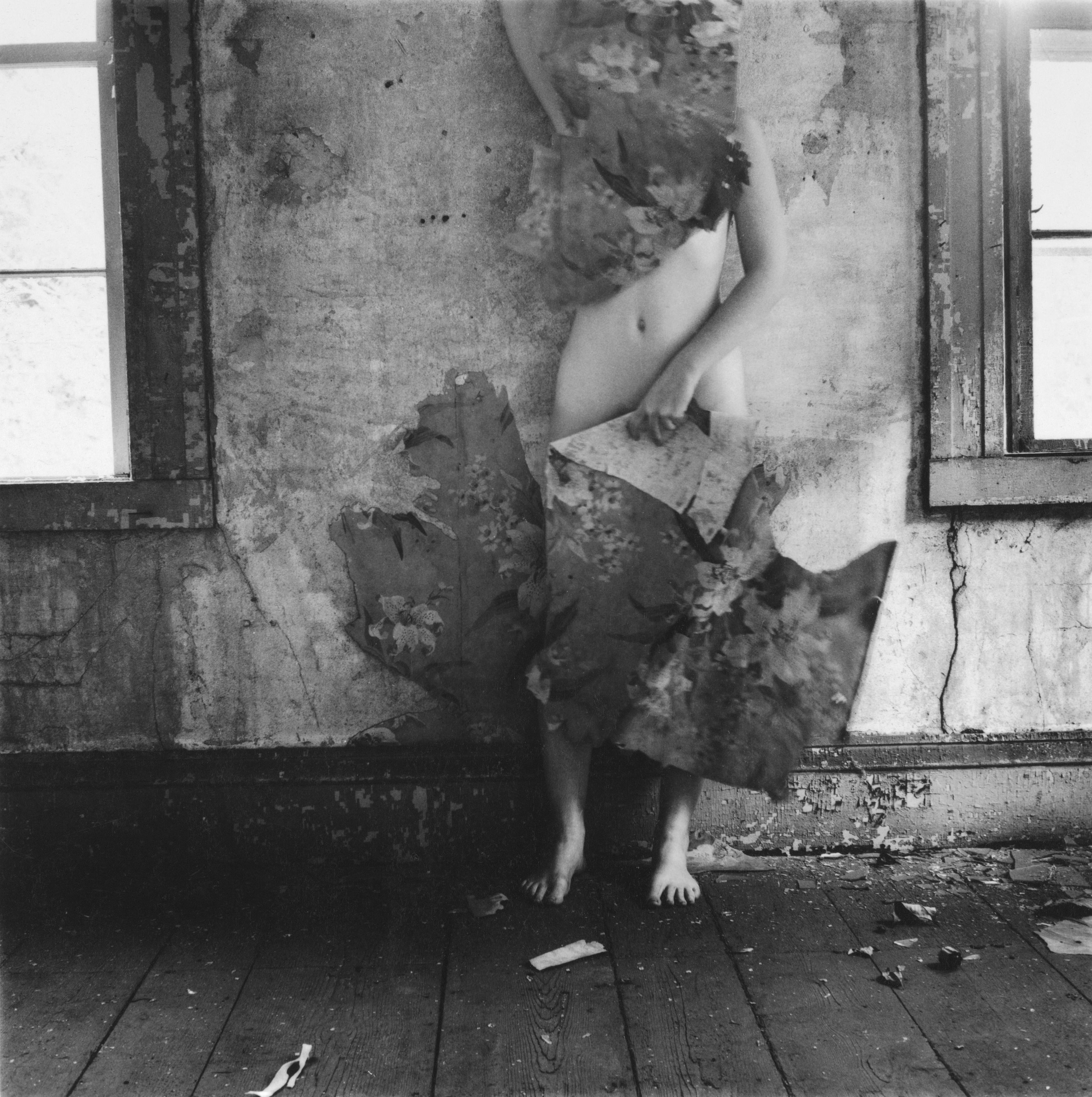 Francesca Woodman, senza titolo, Providence, Rhode Island, 1977, stampa alla gelatina d'argento