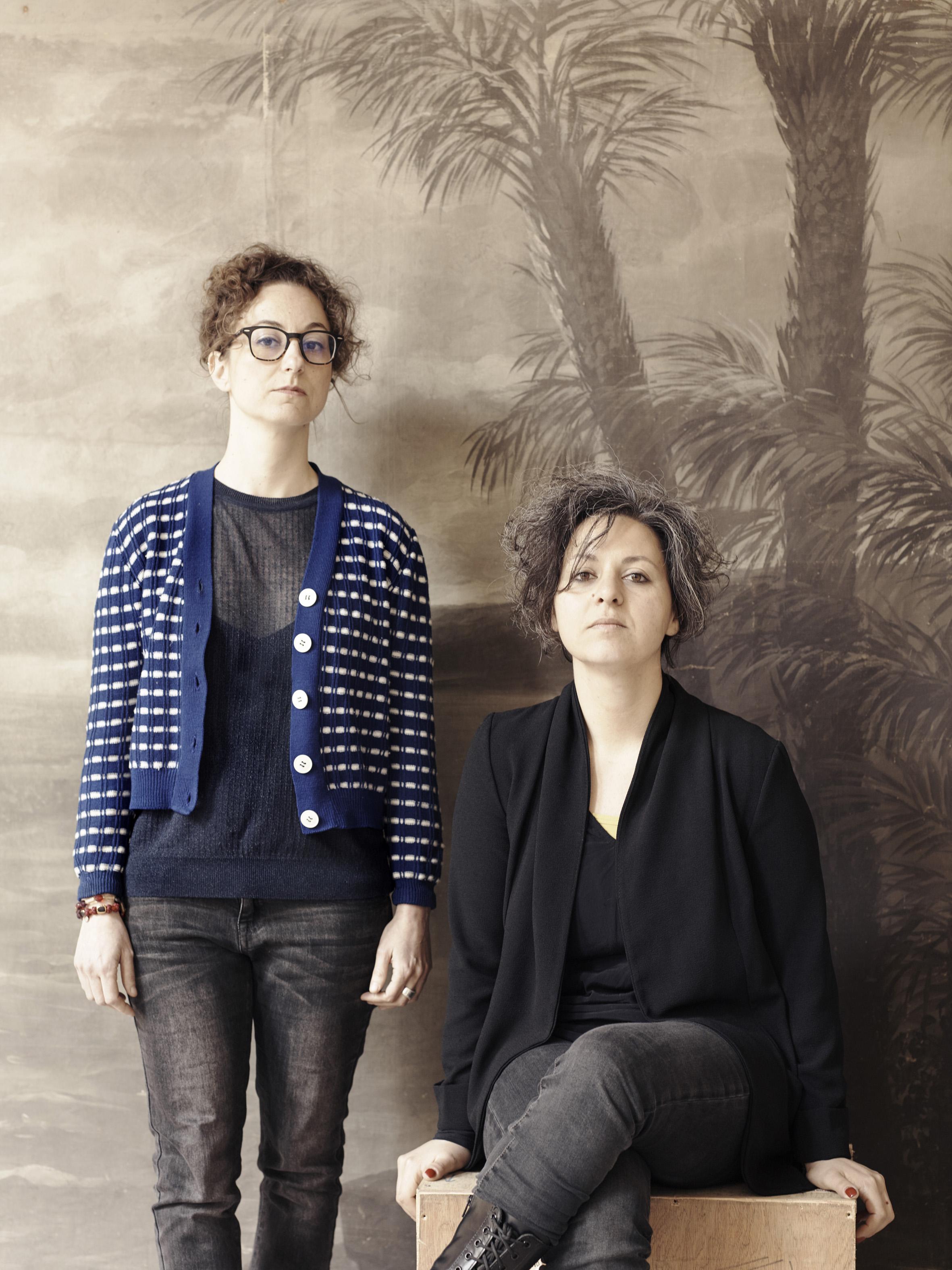 Irene Russo e Alessandra Calò, curatrice e fotografa