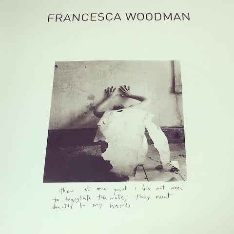 La copertina del libro dedicato a Francesca Woodman (Silvana Editoriale)