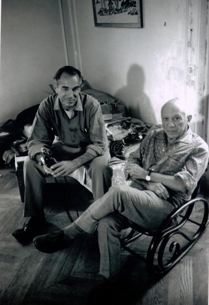 David Douglas Duncan e Picasso, Francia, seconda metà degli anni '50