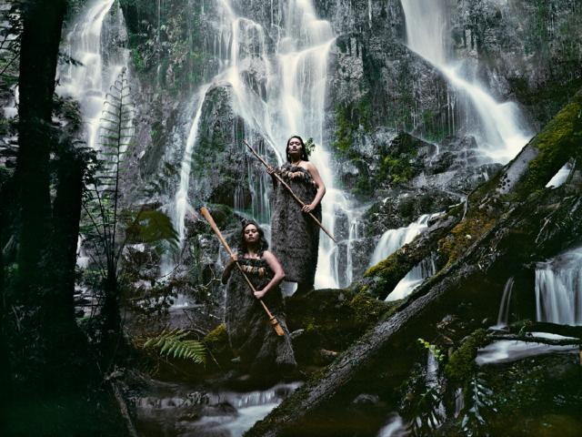 © Jimmy Nelson, Noel Pearse & Dominique Pere Huka Falls, North Island New Zealand, 2011
