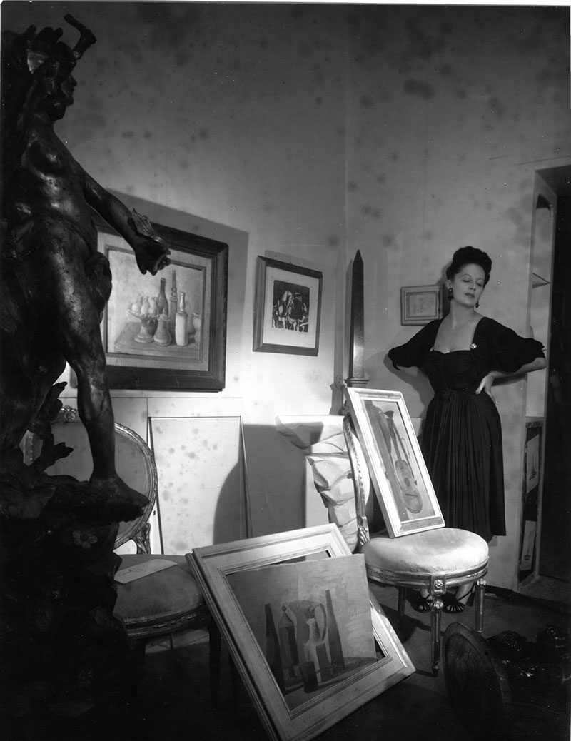 Irene Brin Galleria Obelisco vestito Carosa 1946