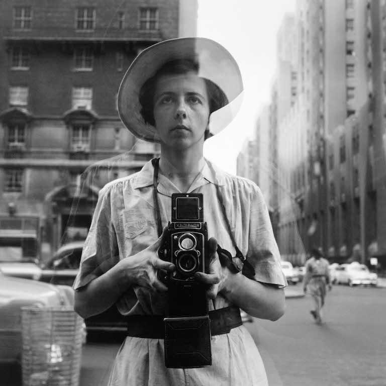 New York, 10 September 1955 © Vivian Maier/Maloof Collection / Courtesy Howard Greenberg Gallery New York