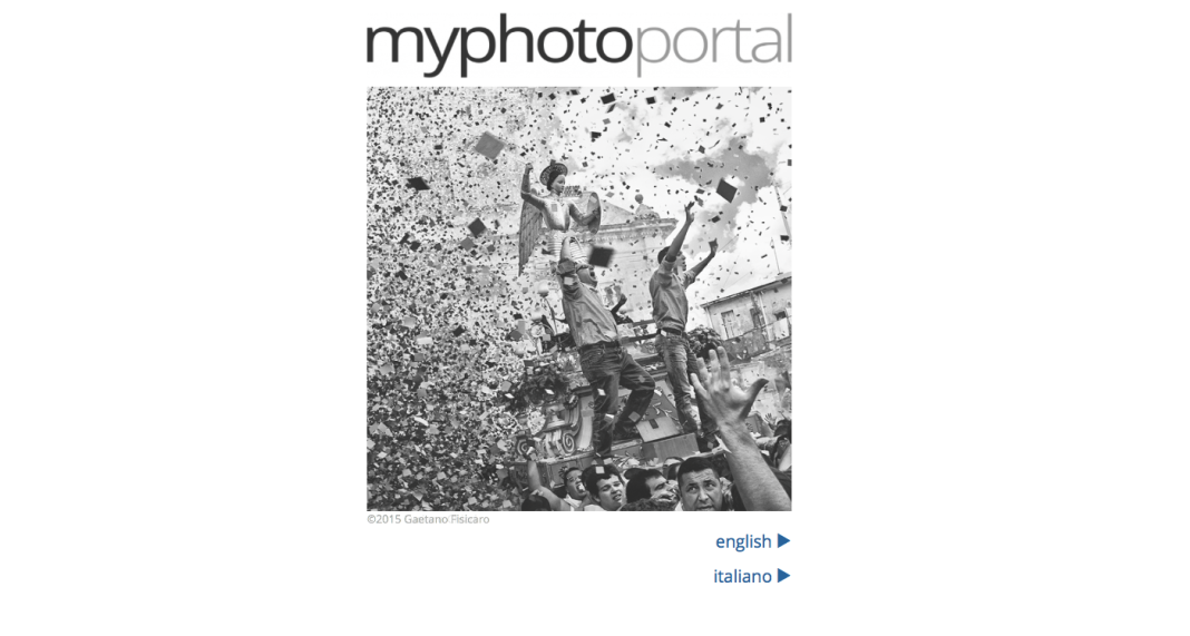 MyPhotoPortal come creare un sito di fotografia