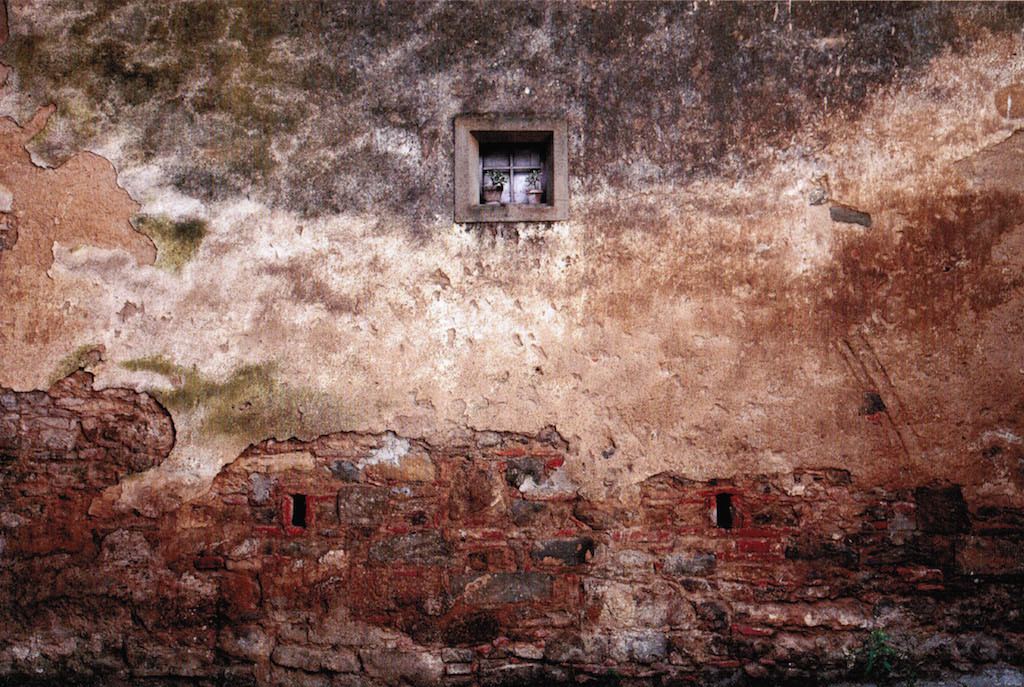 ©Abbas Kiarostami The wall 5, 2010 Stampa a getto di inchiostro su carta Fine Art Epson Edizione 1 di 5 Cm 57.0x89.0