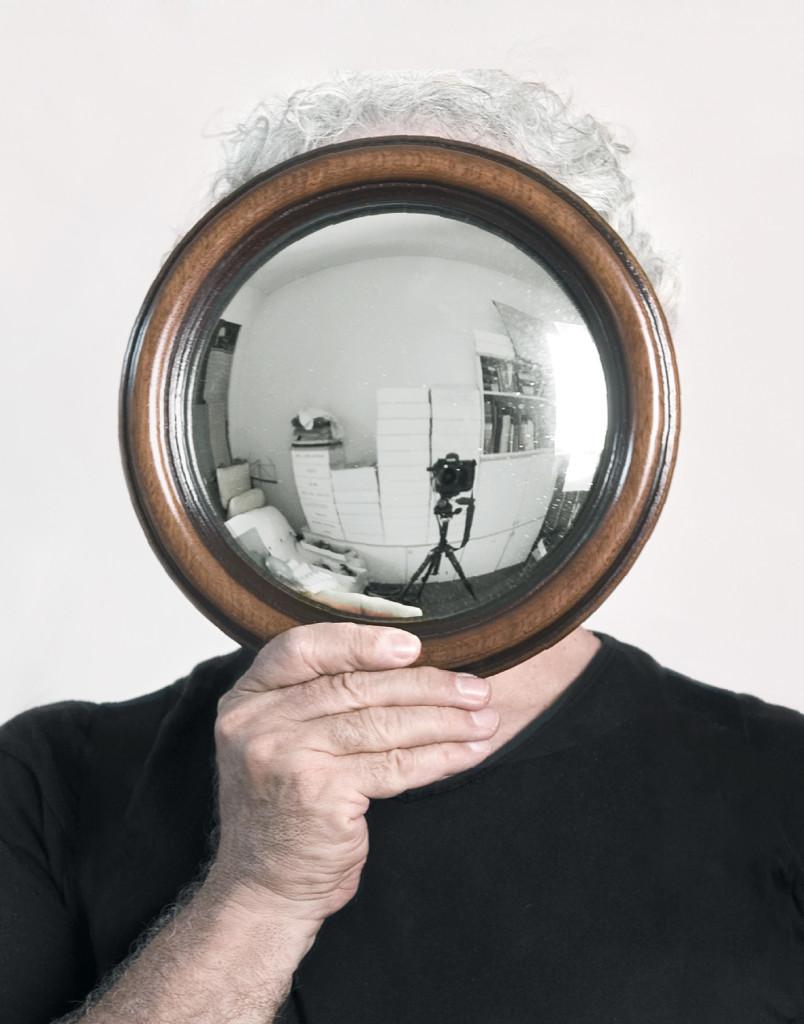 Autoritratto (foto di Mario Cresci)