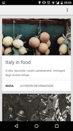 Italy in food in mostra alla biblioteca Alinari