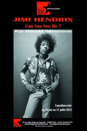 Jimi Hendrix negli scatti di Donald Silverstein