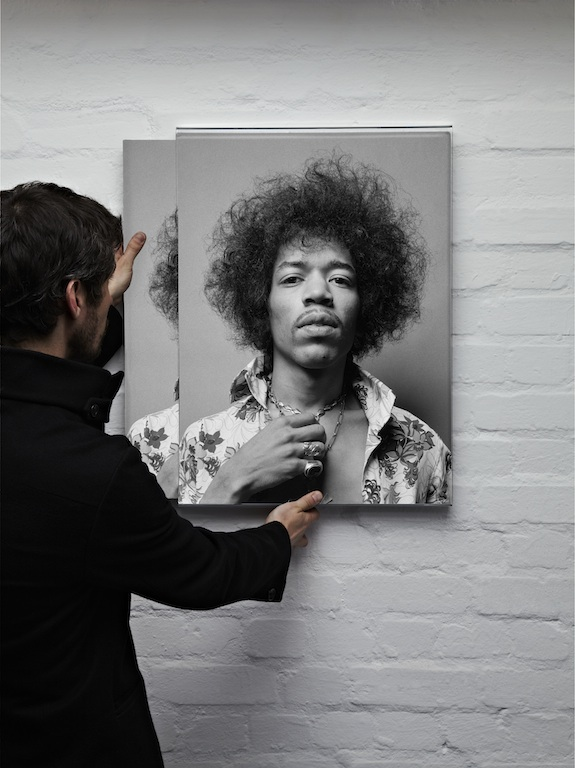 """Jimi Hendrix par Donald Silverstein """"Can You See Me"""""""