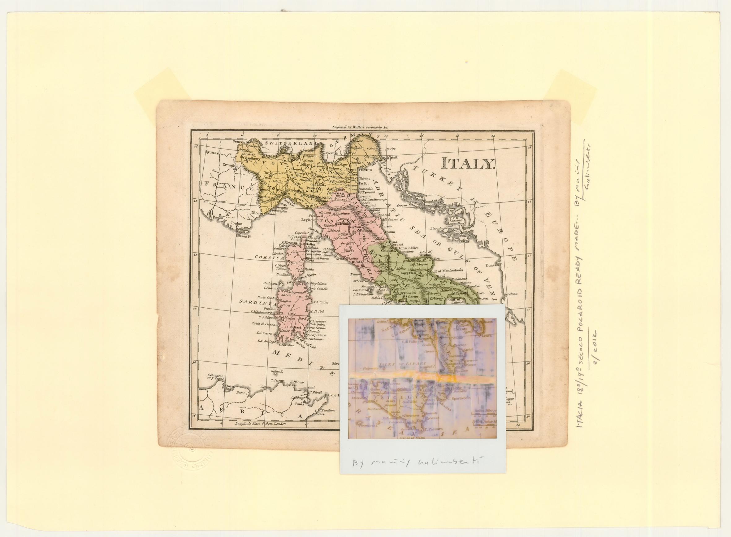 Italia in Polaroid di Maurizio Galimberti