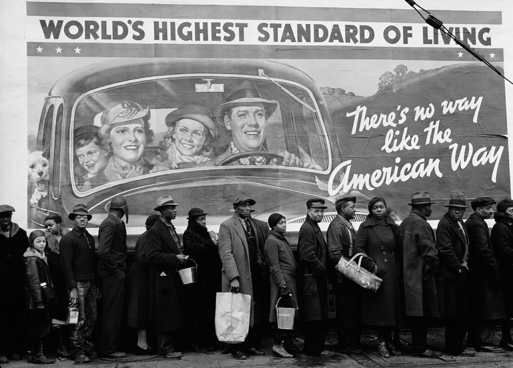 MARGARET BOURKE-WHITE At the time of the Louisville Flood, Louisville, Kentucky 1937 by Margaret Bourke-White © Time Inc. All rights reserved