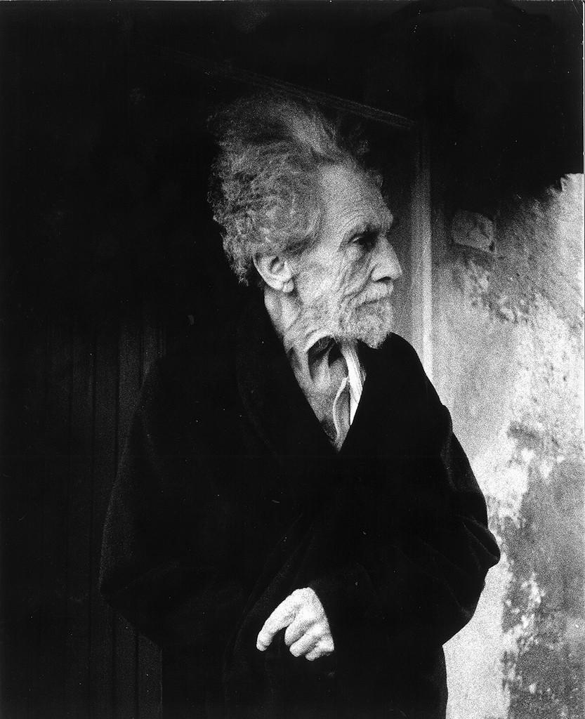LISETTA CARMI Ezra Pound, Sant'Ambrogio di Rapallo 1966 © Lisetta Carmi