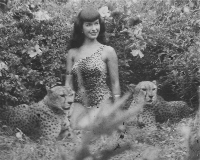 ©Bunny Yeager, 1954 Bettie Page, Courtesy of Michael Fornitz