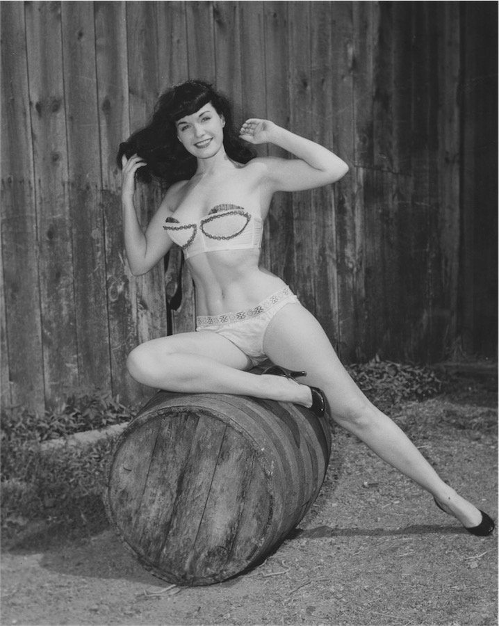 ©Arnold Kovacs, Bettie Page, 1954 ca., Courtesy of Michael Fornitz Collection