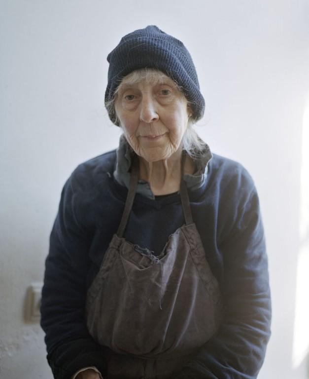 Emmy met mutsje, Dodewaard, 2014 © Hanne van der Woude