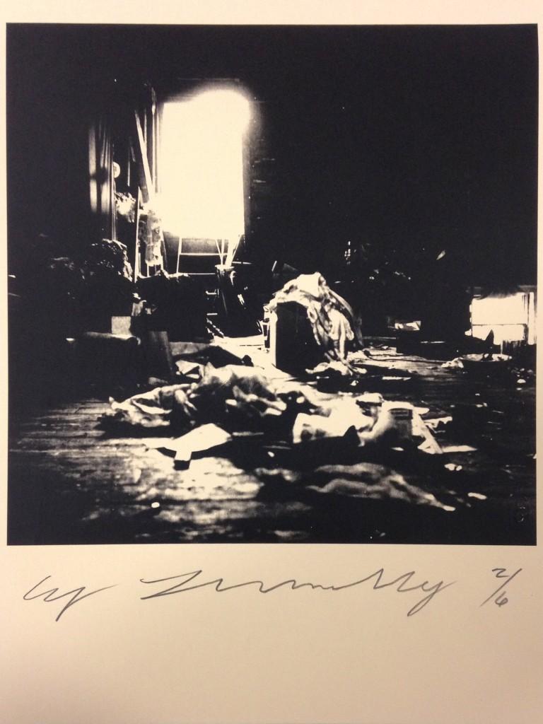 Cy Twombly, Robert Rauschenberg combine material Fulton St. Studio, Courtesy: Fondazione Nicola Del Roscio.