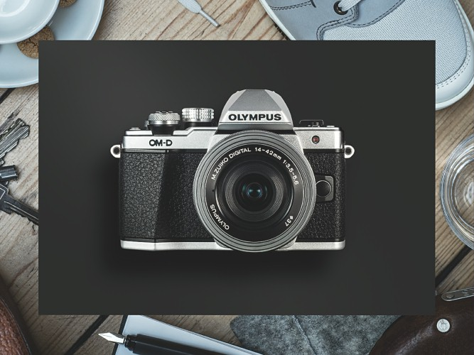 fotocamera serie OM-D Olympus 2015