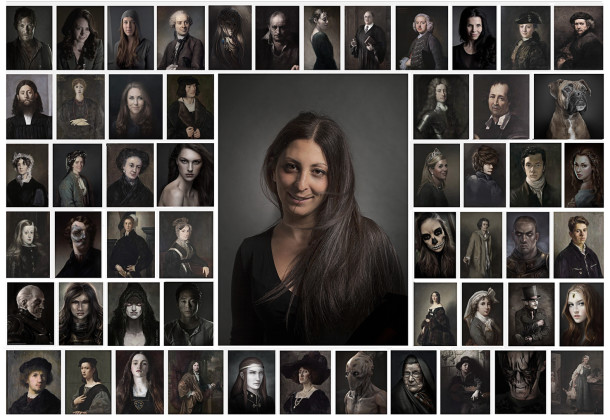 Netaphors fotomontaggi creati con Google Image