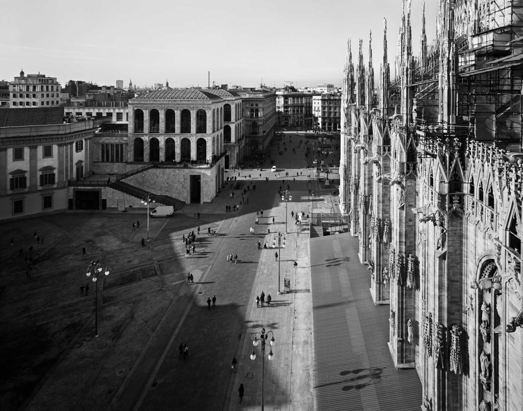 Milano 2011, 11 A7-32 Fotografia di Gabriele Basilico, 2011  Pure Pigment Print, 2015 ed. 4-10 formato cm 130x130