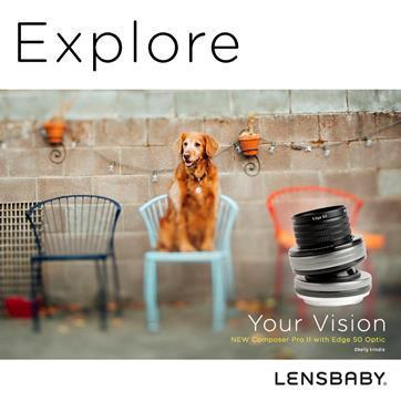 Lensbaby nuovo obiettivo basculante Composer Pro II