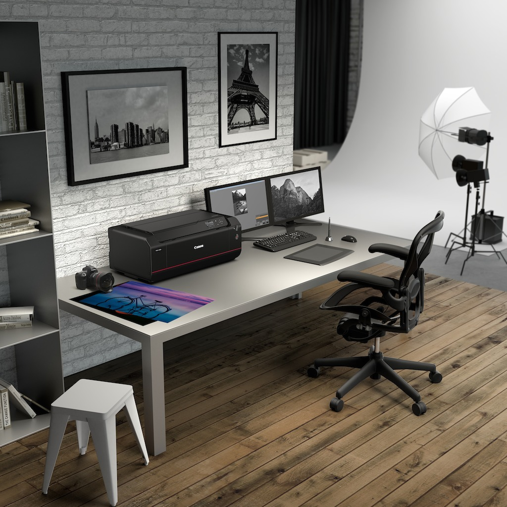 ImagePROGRAF PRO 1000 working environment closed AMBIENT