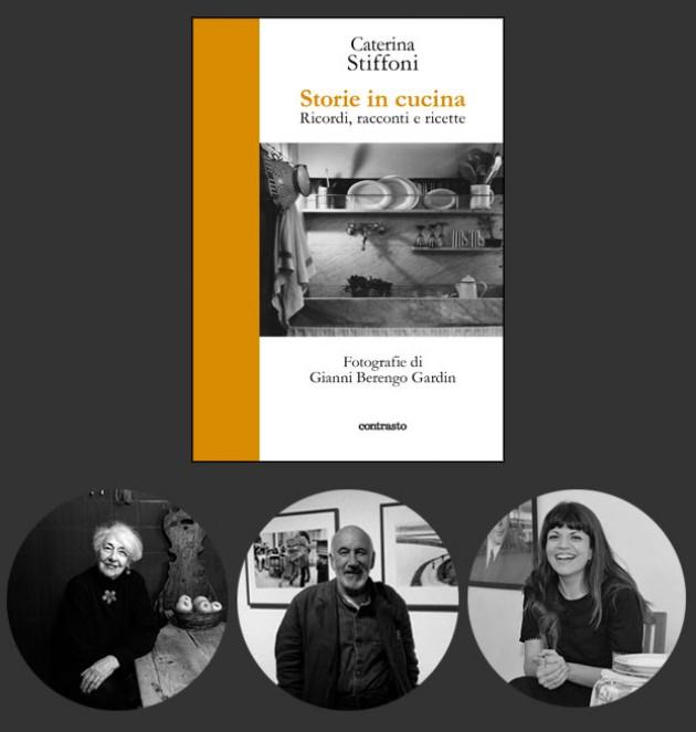 Caterina Stiffoni a Reggio Emilia presenta le sue storie in cucina