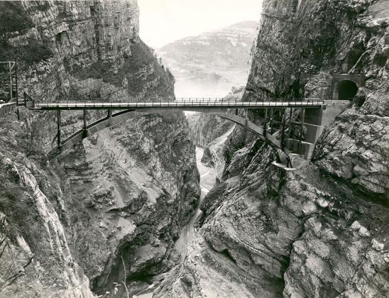 Bridge on the Vajont river