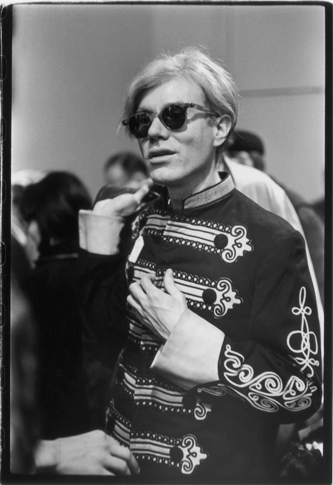 © Estate of Fred W. McDarrah - Andy Warhol In Band Uniform, 1966