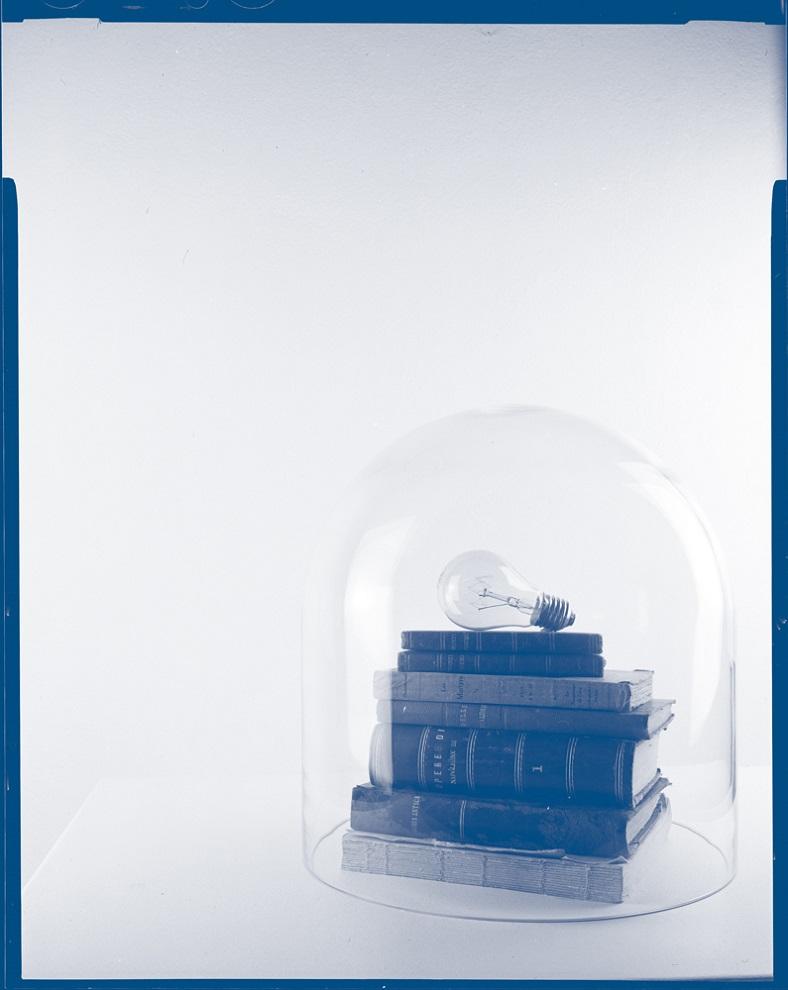 Enrico Fico, Ho creduto di vivere, 2015, scansione da negativo grande formato, 10x09 cm