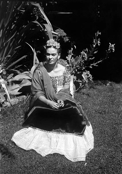 "Frida © Eva Alejandra Matiz and ""The Leo Matiz Foundation"""