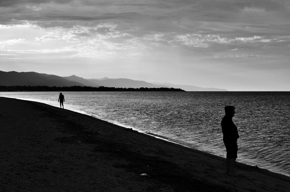 la Poetto beach di Claudio Sanna