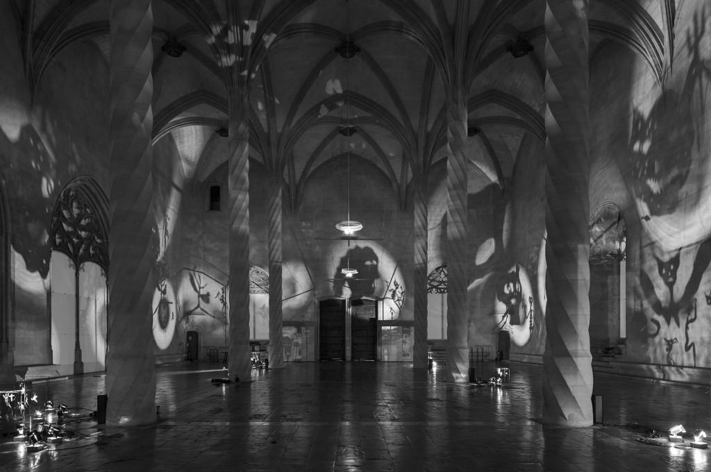 Christian Boltanski, Sombras, 2015 La Lonja, Palma de Mallorca Courtesy : Kewenig Berlin | Palma de Mallorca © Christian Boltanski