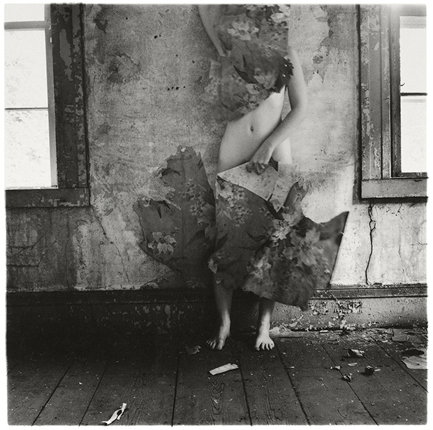 Francesca Woodman, From Space 2, Providence, Rhode Island, 1976 © Betty and George Woodman