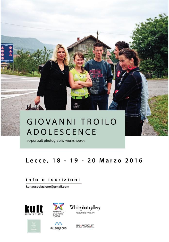 Un workshop a Lecce con Giovanni Troilo
