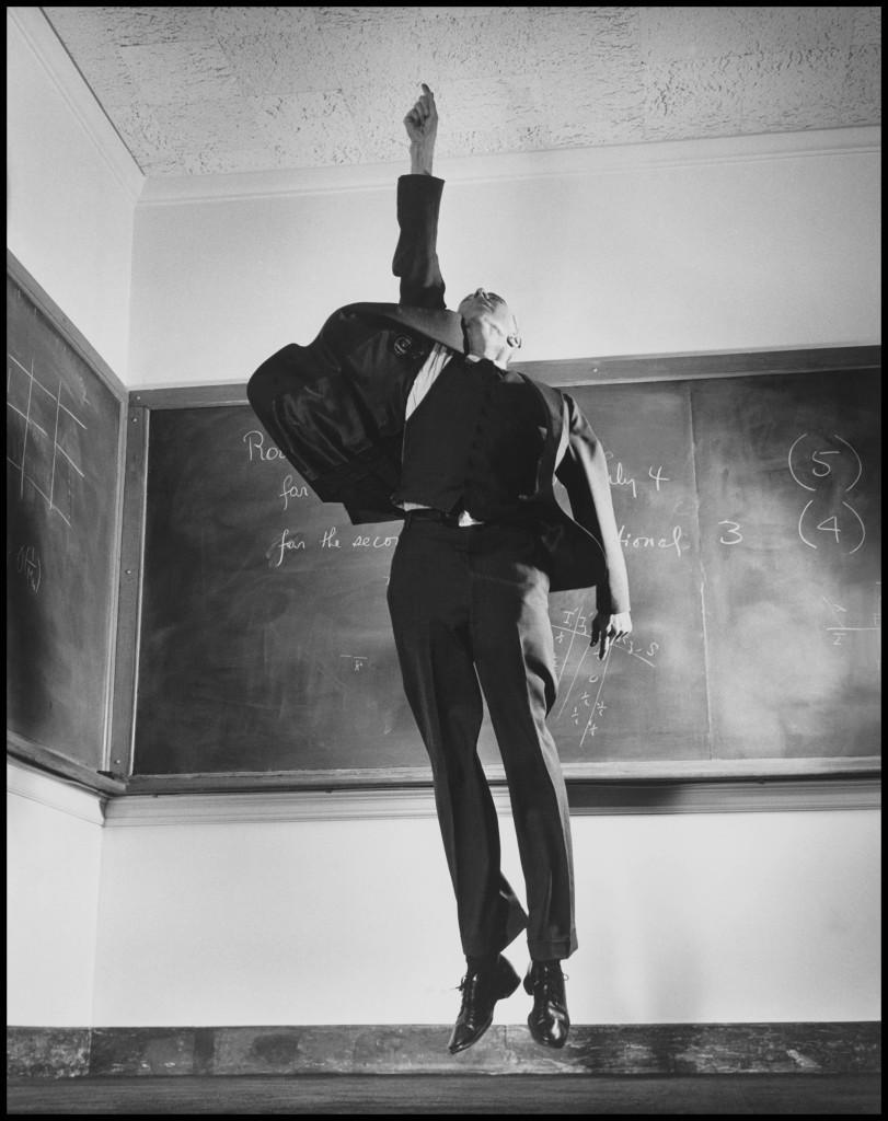 1958. American physicist J. Robert OPPENHEIMER. © Philippe_Halsman
