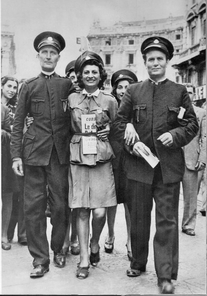 La tranviera del 26 luglio 1943 © Istituto Luce – Cinecittà