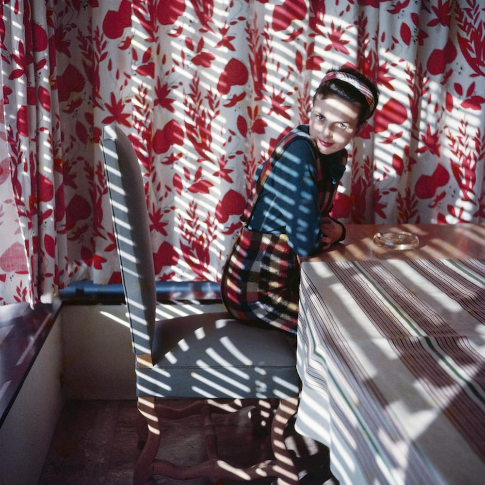 Florette. Vence, mai 1954. Photographie J. H. Lartigue © Ministère de la Culture - France / AAJHL