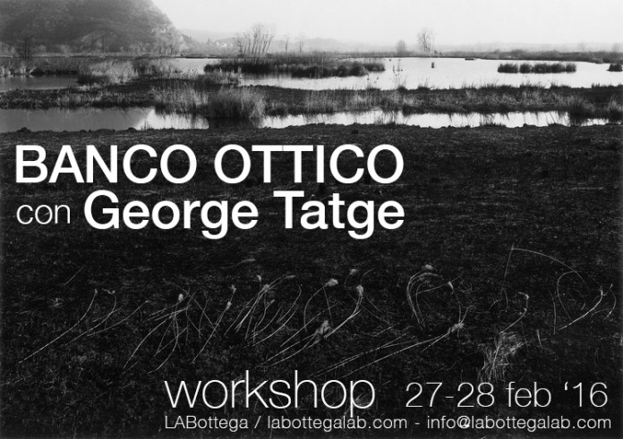 Banco ottico workshop con George Tatge