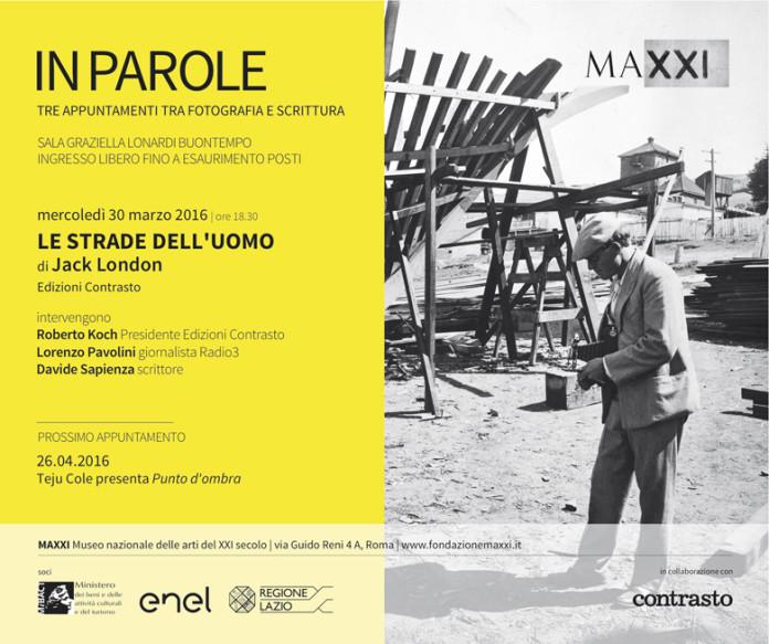 Jack London fotografo. La presentazione delle sue fotografie a Roma